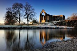 Dawn at the Abbey