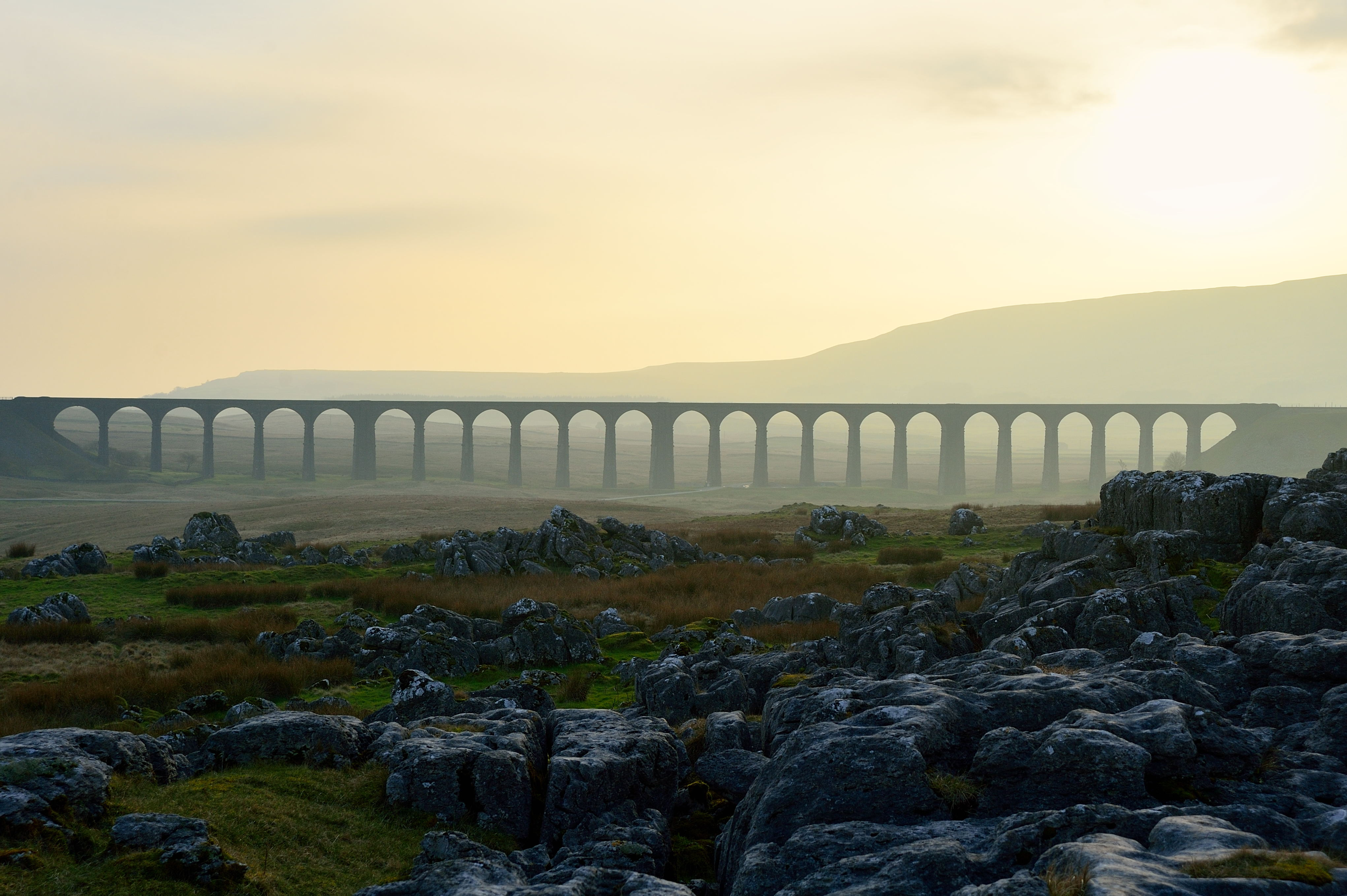 Dusk at Ribblehead