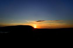 148/365 Pendle sunset