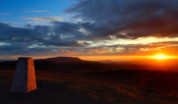 355/365 Sunset on the trig