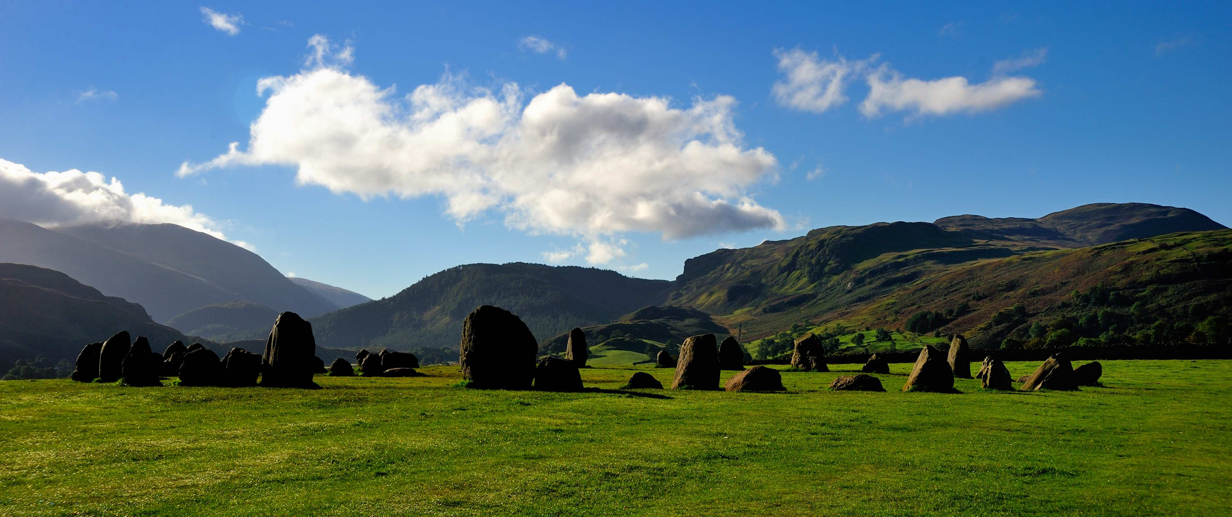 Morning at Castlerigg