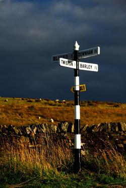 153/365 Annel Cross fingerpost