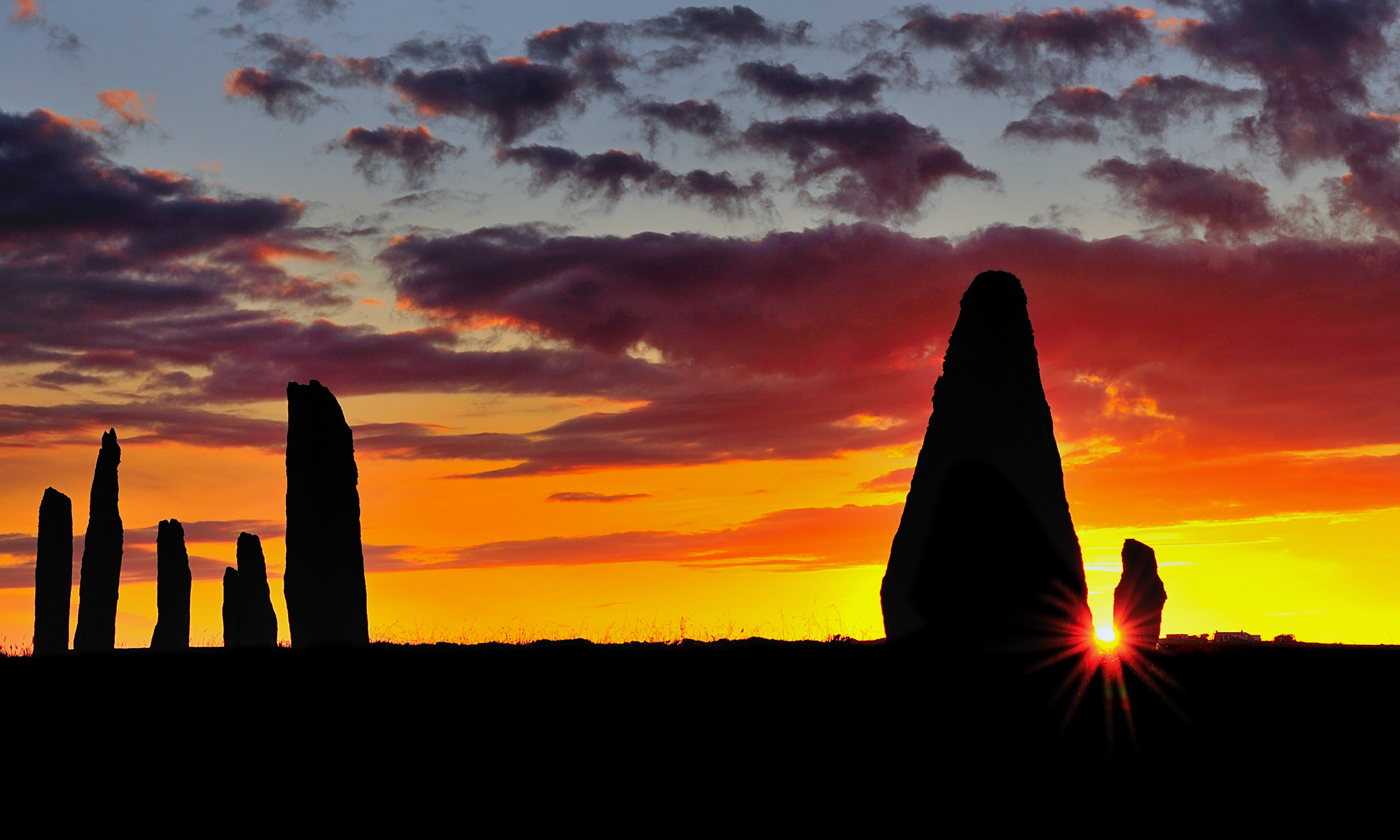 Brodgar sunset