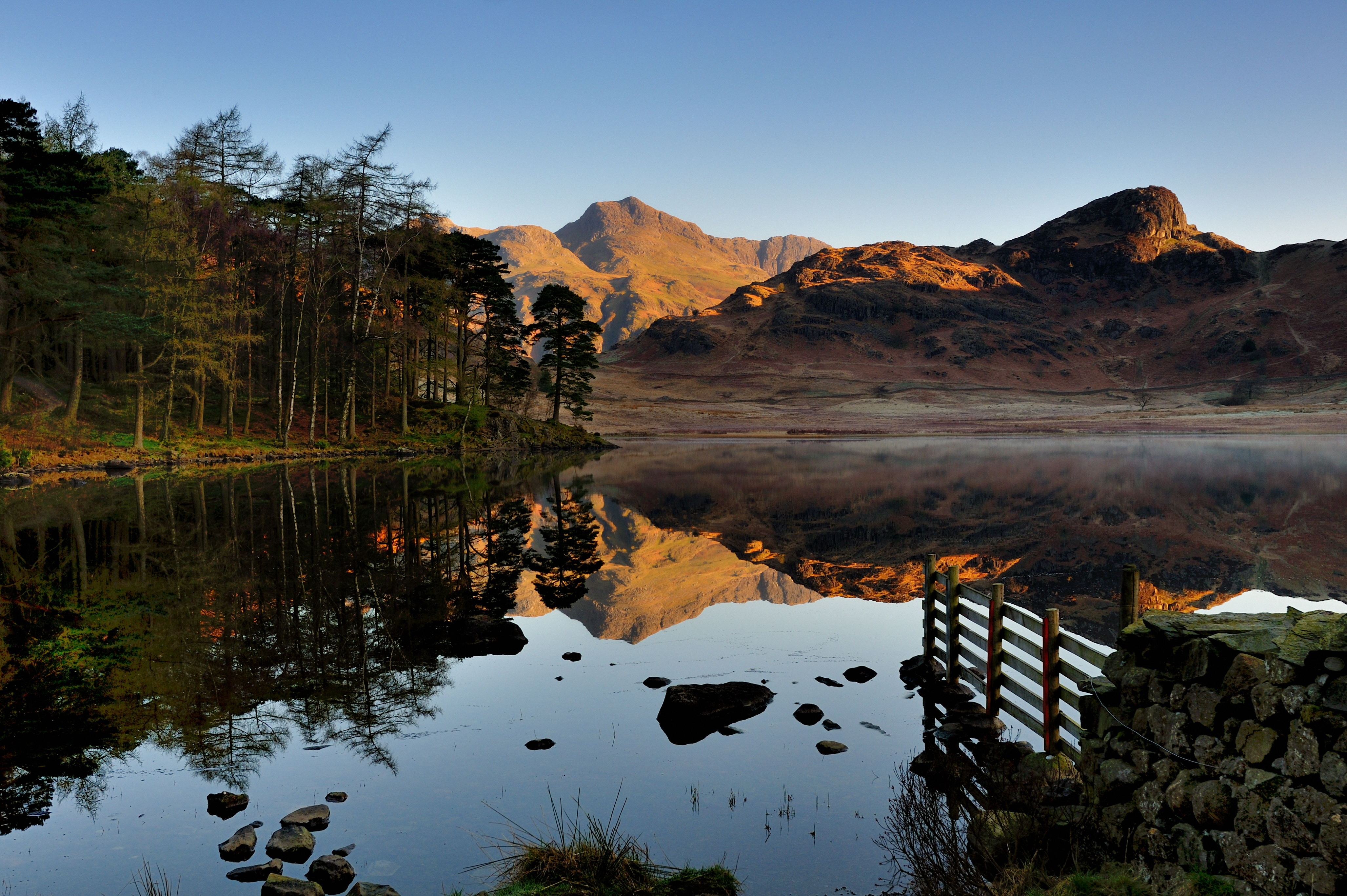 Reflections of dawn