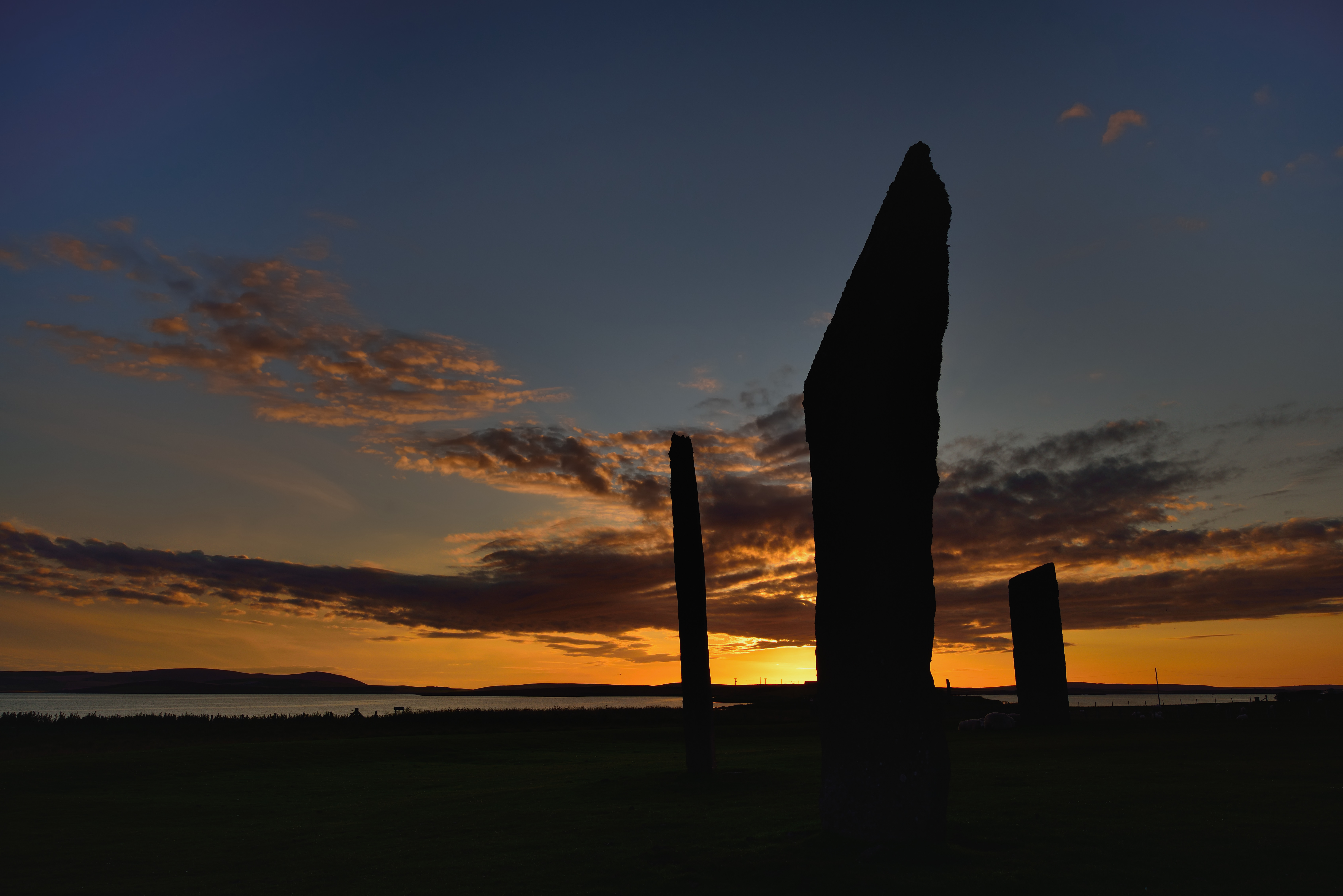 Stenness at dusk