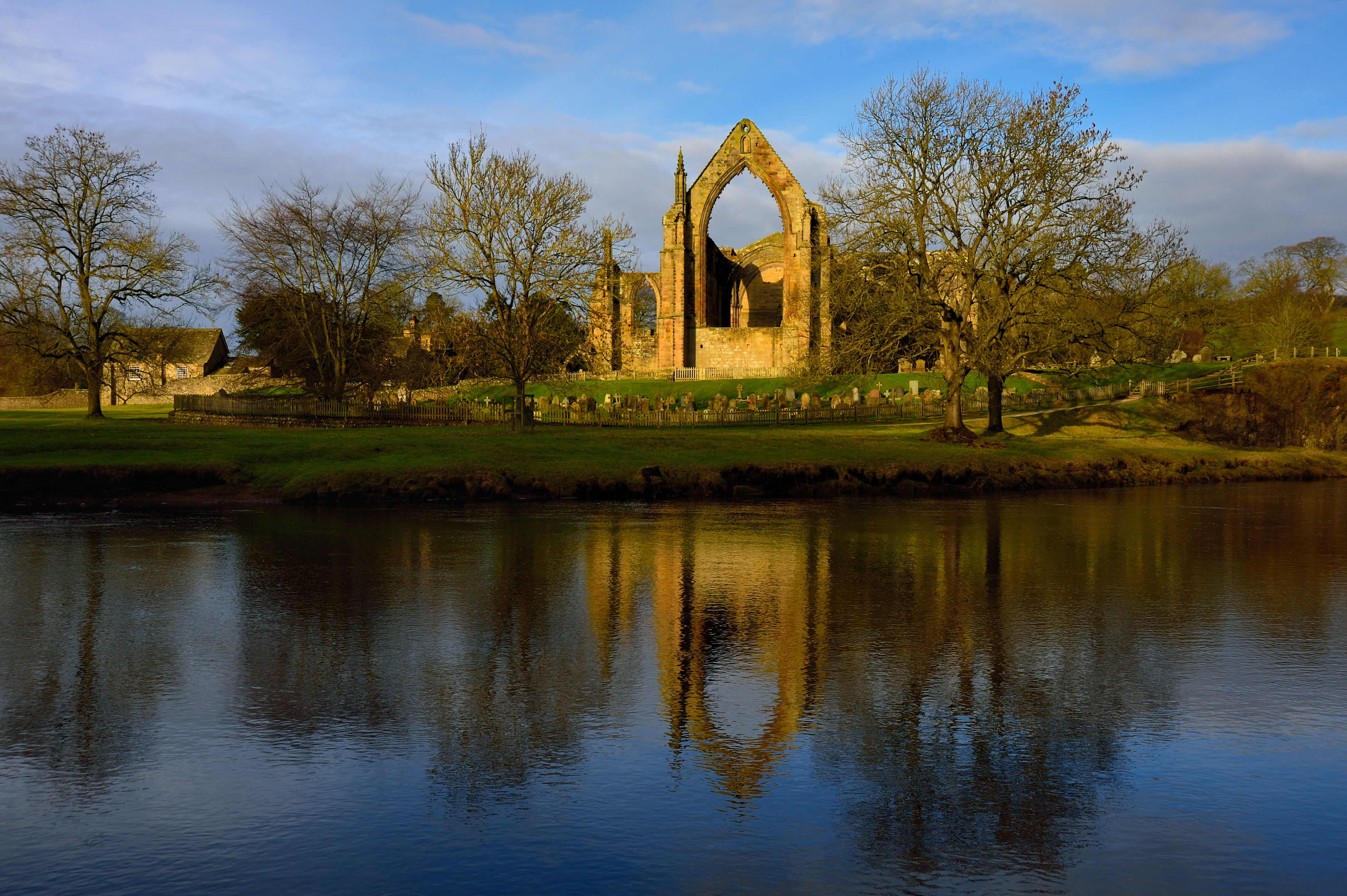 Dawn at Bolton Abbey
