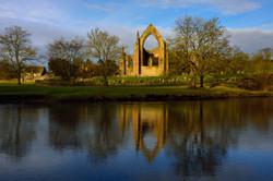 Dawn at Bolton Abbey