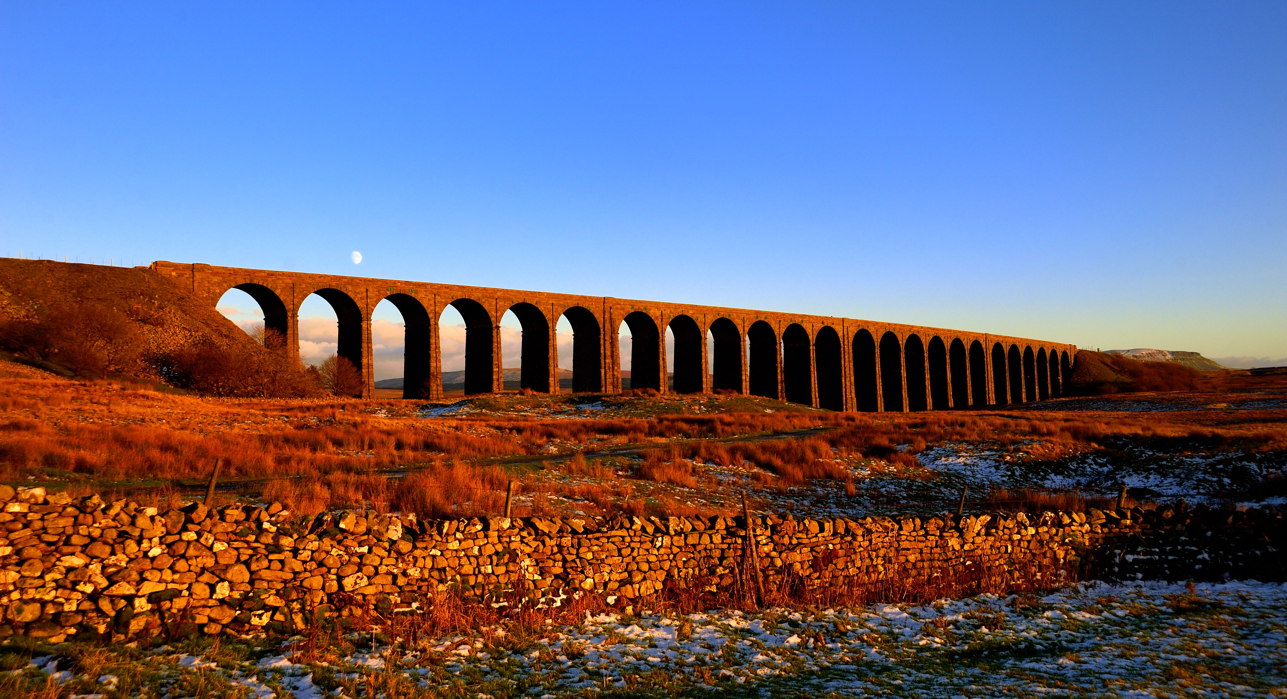 Golden hour at Ribblehead