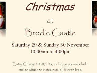 Brodie Castle Christmas Craft & Food Fair 29th/30th November