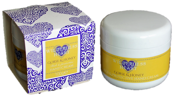 Hand cream – Gorse & Honey (100g jar)