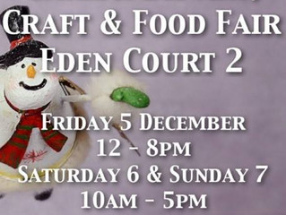 Eden Court 2 - Christmas Art, Craft & Food Fair (Dec 5th to Dec 7th)