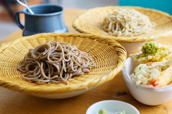天ぷら&おそばのセット