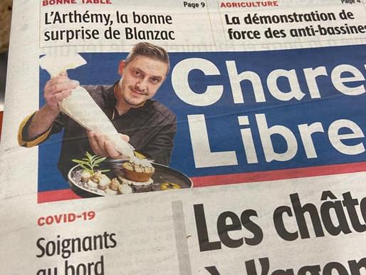 """""""L'Arthémy, la bonne surprise de Blanzac"""""""