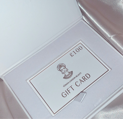 Gift card from £50 - £200