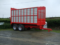 GH Engineering Silage Trailer