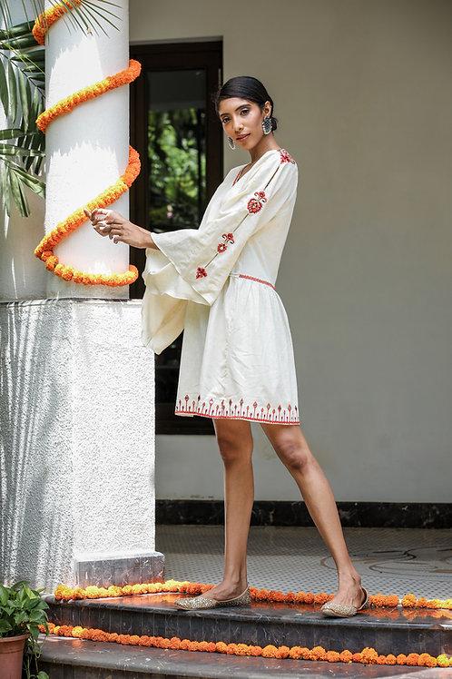 Khadi Short Dress