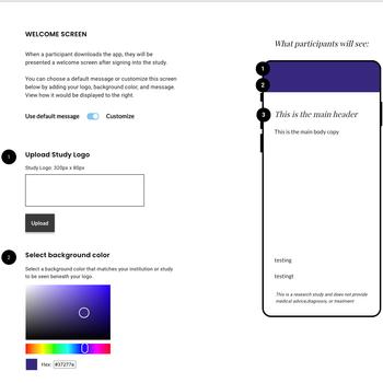 Customize your app