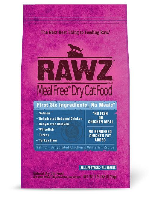 ラウズ サーモン、ディハイドレイテッドチキン&ホワイトフィッシュレシピ CAT 790g
