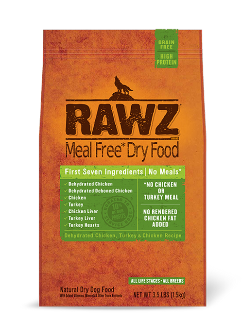 ラウズ ディハイドレイテッドチキン、ターキー & チキンレシピ DOG 1.58kg
