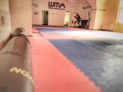 Top ausgestatteter Trainingsraum
