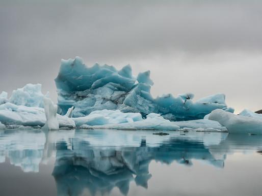 Imagine an iceberg