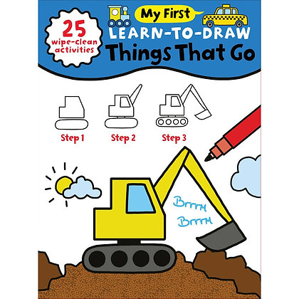 Learn to Draw: Things That Go