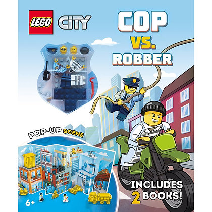 Lego City: Cop vs. Robber (books + minifigs)
