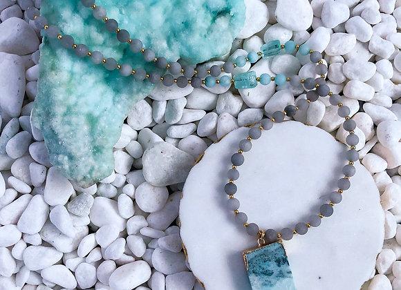 Sea Spray Pendant Necklace