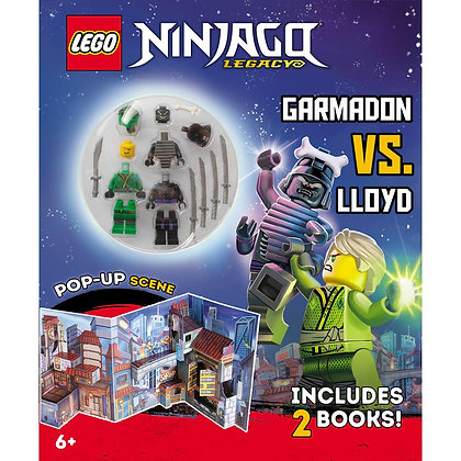 Lego Ninjago: Garmaddon vs. Lloyd (books+ minifies)