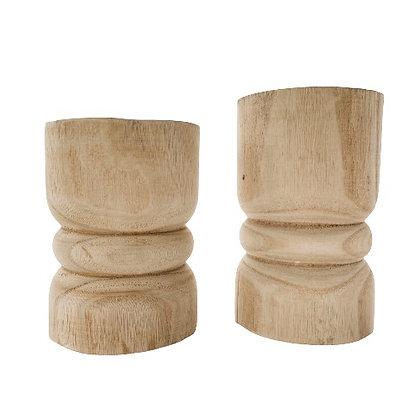 Natural Wood Pillars
