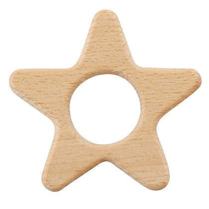 Natural Wood Teether