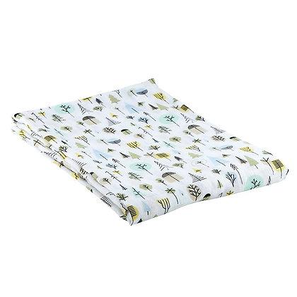 Forest Swaddle Blanket