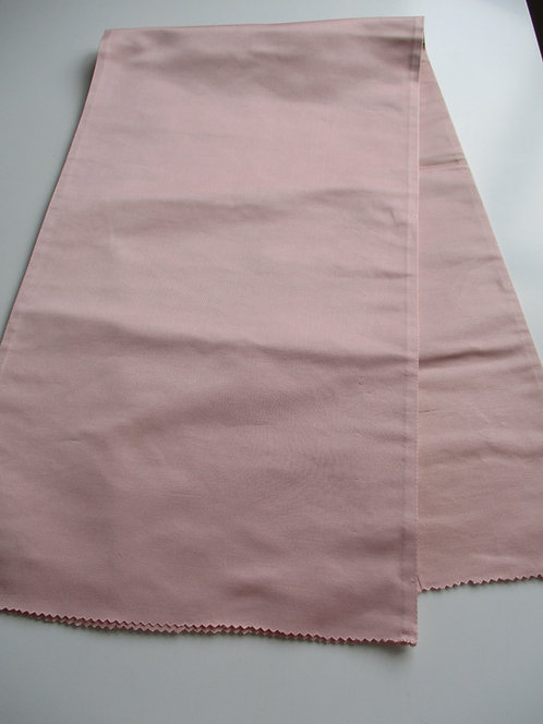 Obi fabric - Fukuro Obi - Plain/Lining - Silk - Upcycle - Lavender pink - Used
