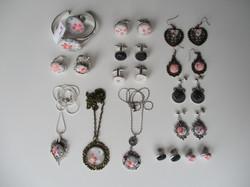 Spring - Fabric Jewels