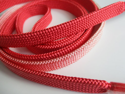 Obijime - Belt - Japanese accessories - 157 x 1.3 cm - Shades of Coral pink