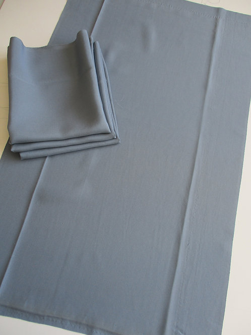 Kimono lining fabric - Upcycle - Silk - Blue - Used Fabric