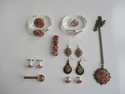 Floral - Fabric Jewels