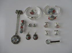 New England - Fabric Jewels