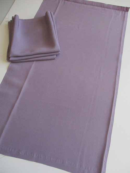 Kimono lining fabric - Upcycle - Silk - Lavender - Used Fabric
