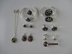 Oriental - Fabric Jewels