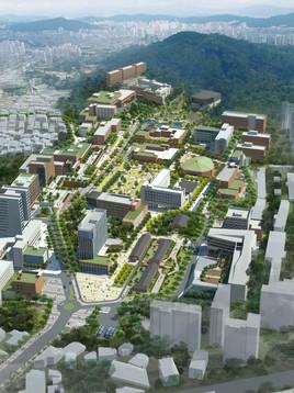 서울시립대학교 마스터플랜
