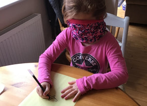 Miss Hearn's Blindfold Drawing Challenge