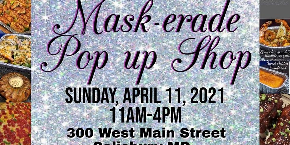 Mask-erade Pop Up Shop