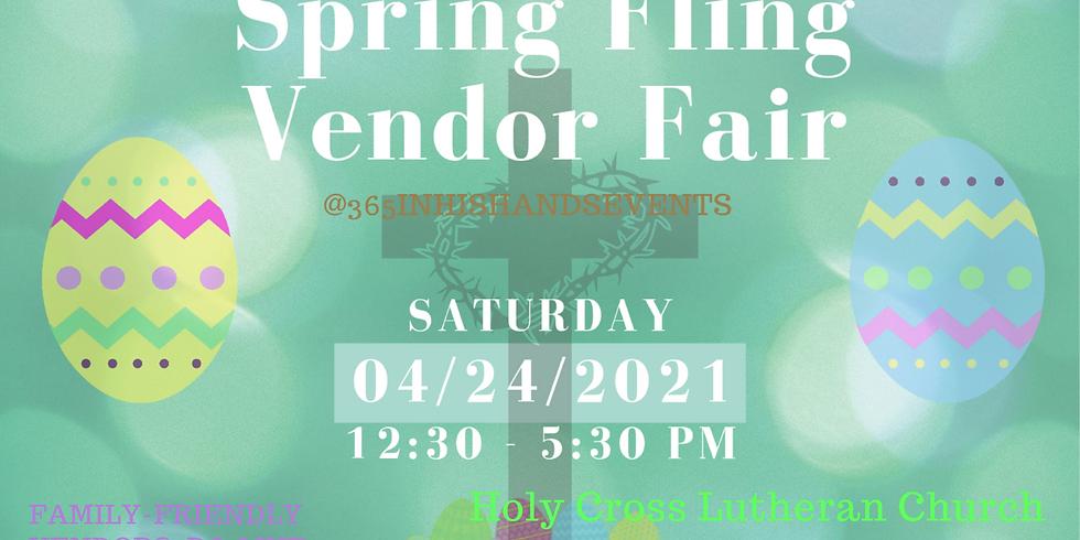 Spring Fling Vendor Fair