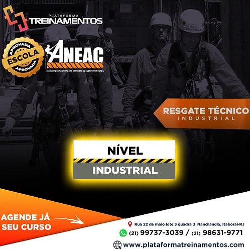 Resgate Nível INDUSTRIAL - NBR 16710
