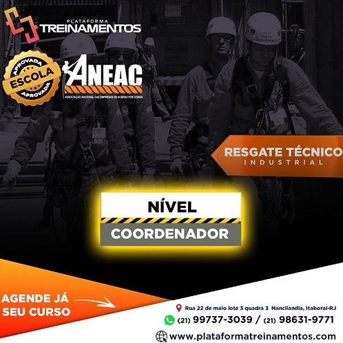 Resgate Nível COORDENADOR - NBR 16710