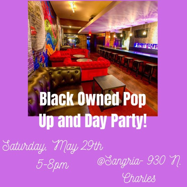 Black Owned Pop Up and Day Party!