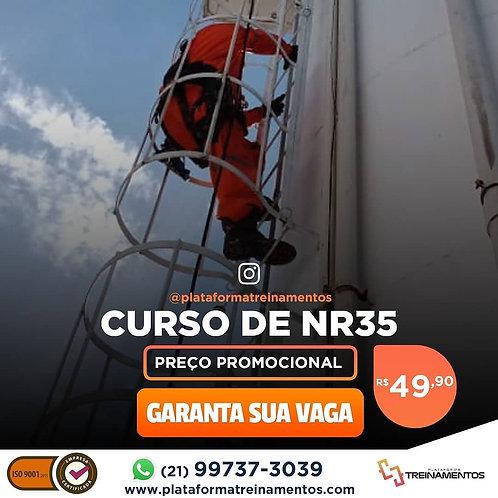 NR-35 - Trabalhador em Altura - 8 h