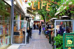 Halandri pedestrian street