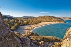 Beach near Sitia